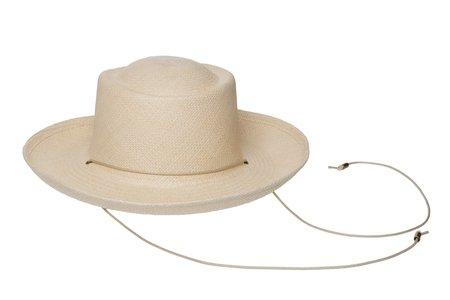 Clyde Gambler Hat - Undyed Natural