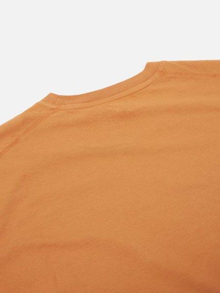 Universal Works Adobe Print T-Shirt - Orange