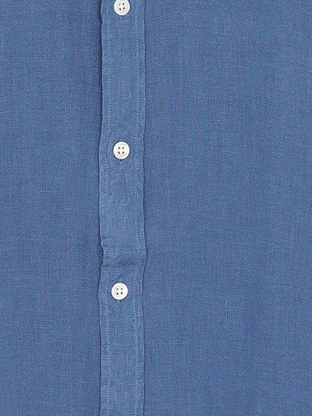 Hartford Sammy Linen Shirt - Ocean