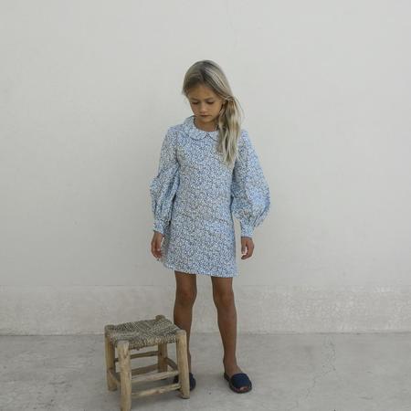 KIDS Yoli & Otis Odile Dress - Azure Floral