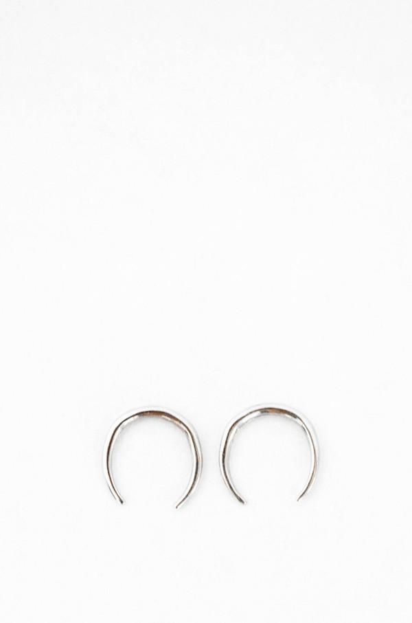 Gabriela Artigas 14K White Gold Mini Rising Tusk Earring Set