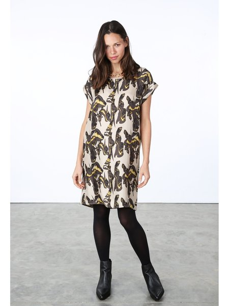 HFREDRIKSSON Box Dress - Crinkle Print