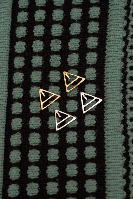 PAR ICI Triangle Earring