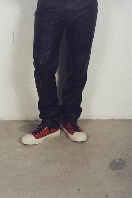 article nº Linen Canvas Sneaker - red