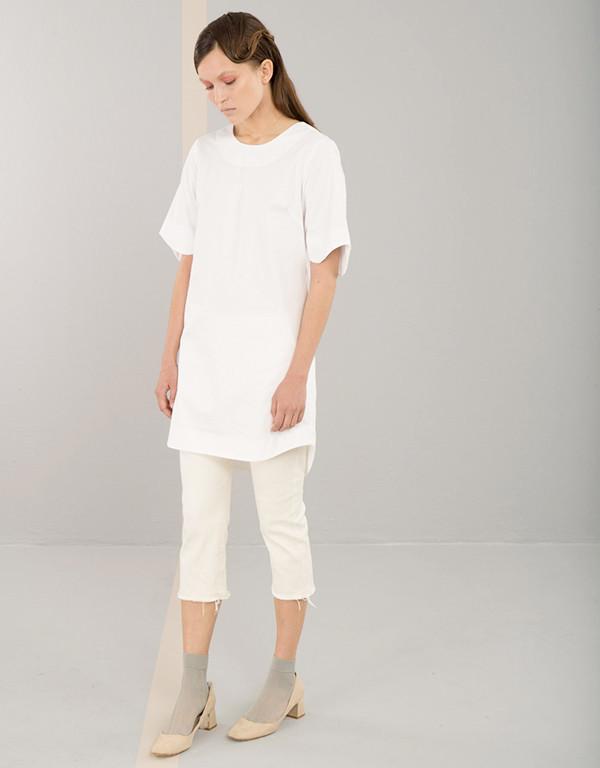 Elise Ballegeer Croquet Dress - White