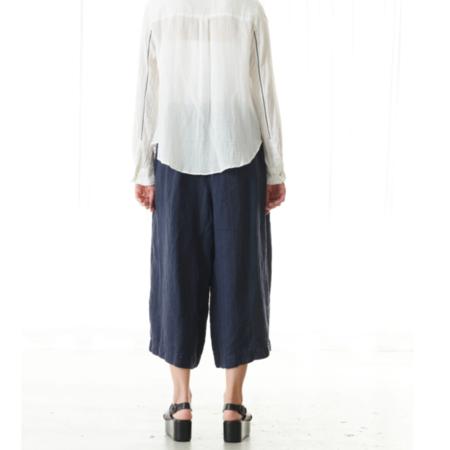 Pas de Calais LIGHT COTTON DRESS SHIRT - White