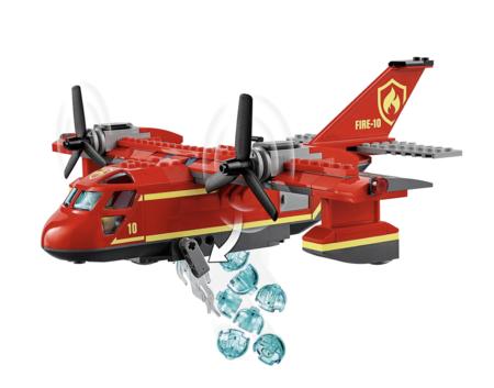 Lego City Fire Plane