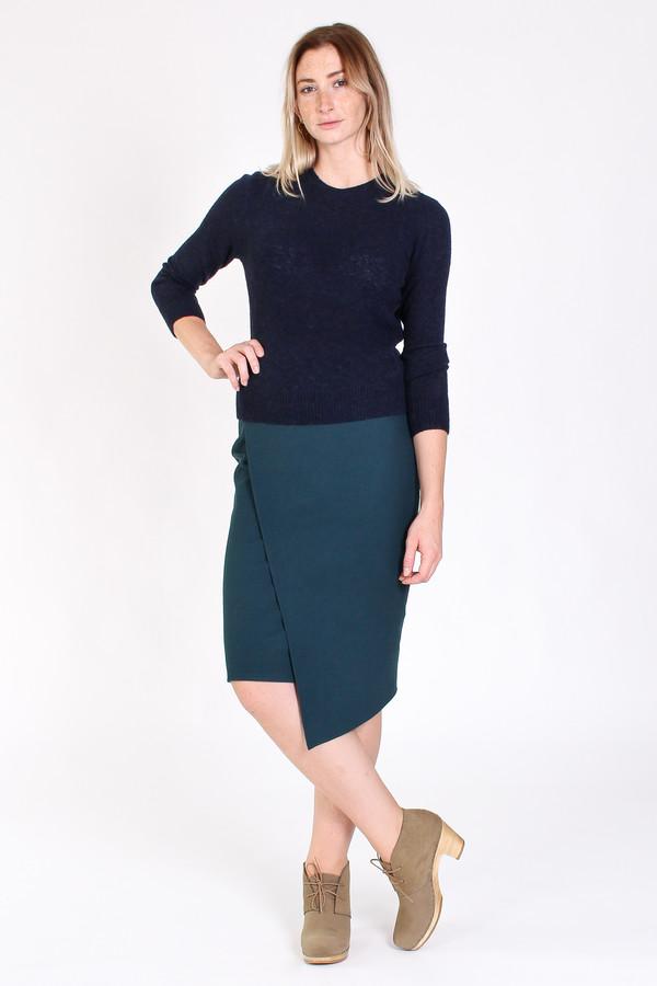 Obakki Nenna skirt in teal green