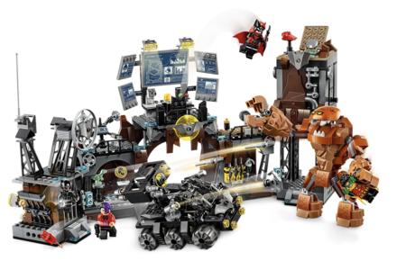 Lego Super Heroes Batcave Clayface Invasion
