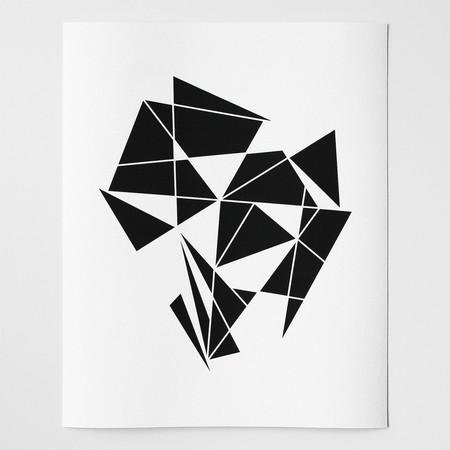 Barclay Haro Art Concepts Crystal Abstract No.2