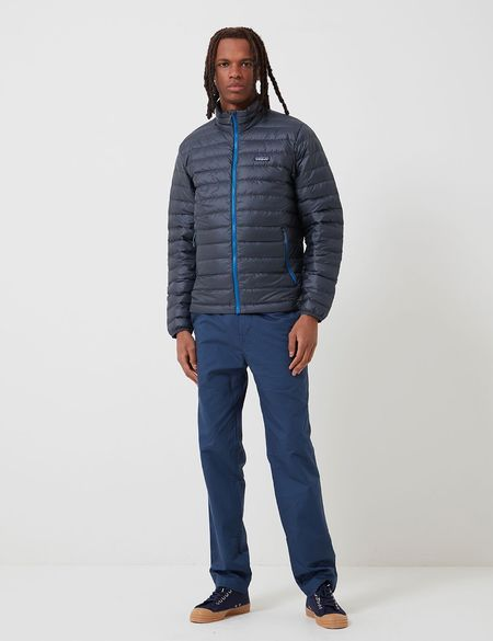 Patagonia Down Sweater Insulated Jacket - Smolder Blue/Andes Blue