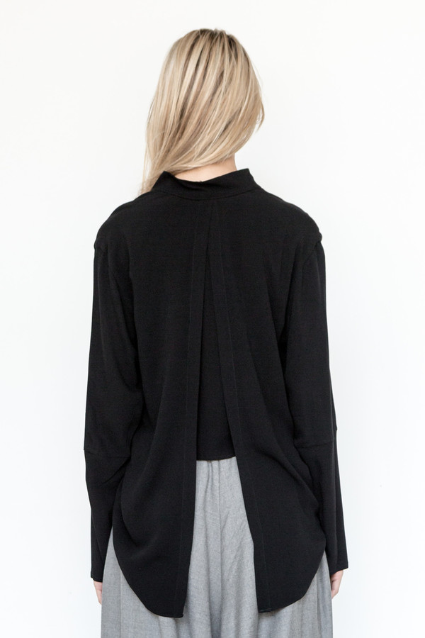 Assembly New York Crepe Calla Top