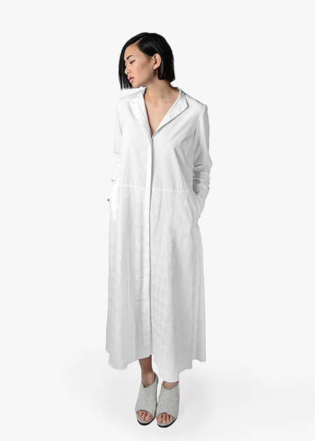 Svilu - Band Collar Shirtdress