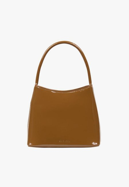 BRIE LEON Chloe Bag - Muted Brown Patent