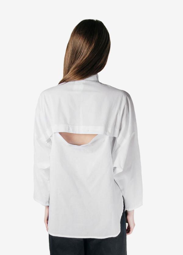 Study-NY - Convertible Button-up Shirt