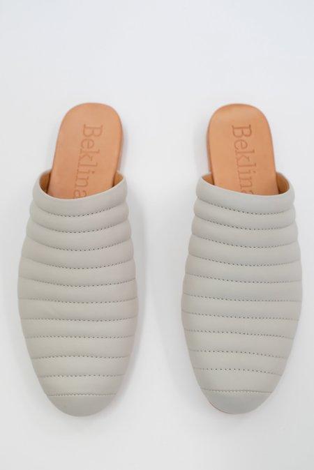 Beklina Ribbed Flats - Soft Grey