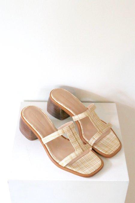 Paloma Wool Romina Wedge Heel - Natural
