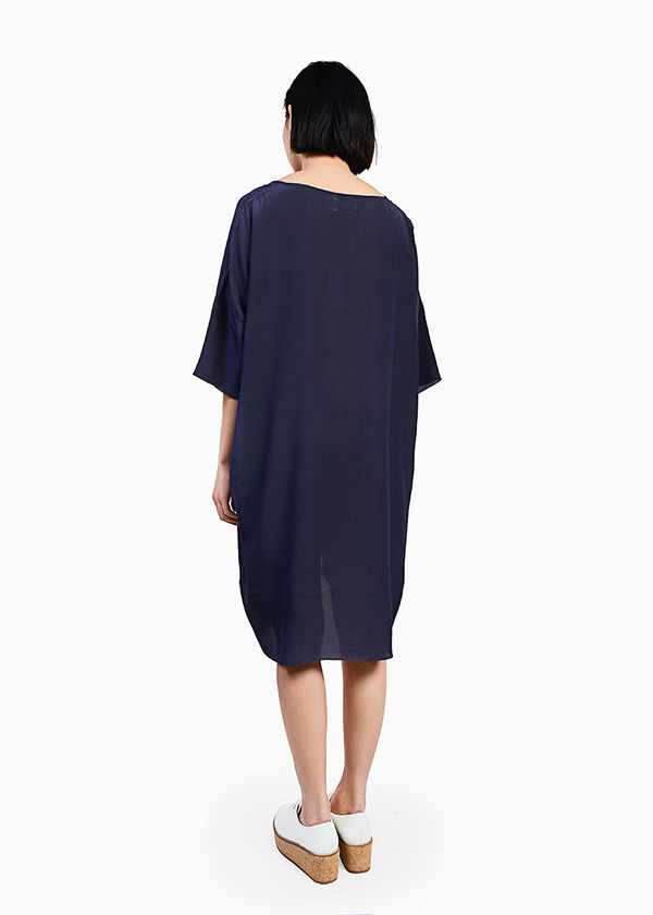 Revisited Matters - Crepe Silk T-Shirt Dress