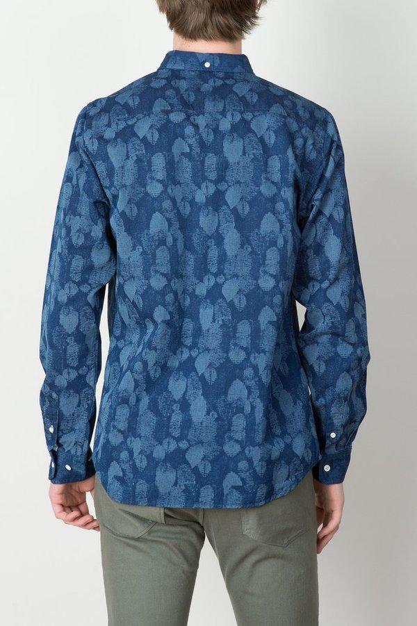 Men's Norse Projects - Anton Indigo Leaf Shirt