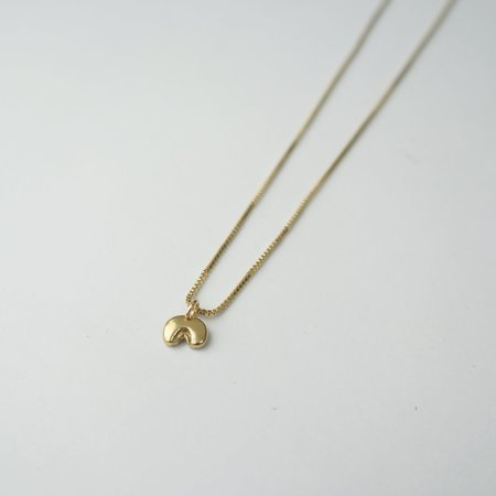 Rebekah J Designs Gentle Necklace - Brass