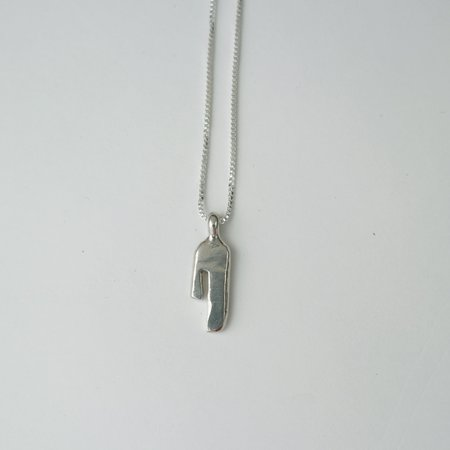 Rebekah J Designs Strength Necklace - Sterling Silver