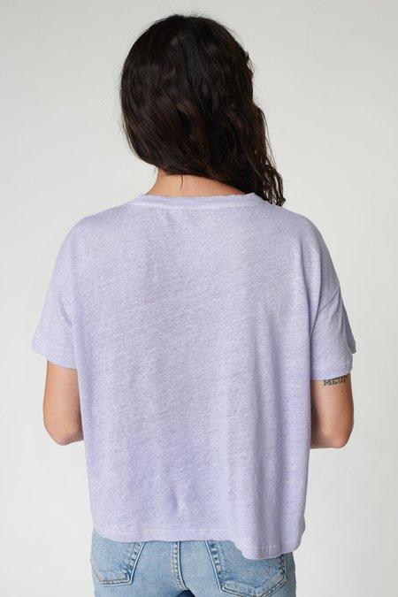 Stateside Linen Jersey Tee - Lilac