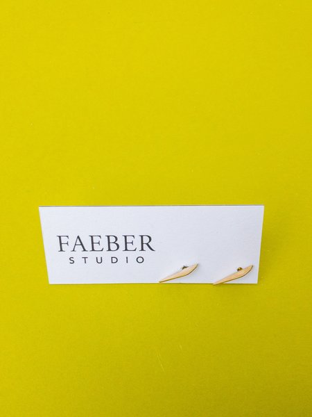 Faeber Studio atuale studs - Brass