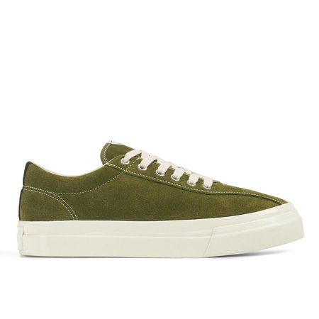 Unisex Stepney Worker's Club Dellow Suede Sneaker - Military