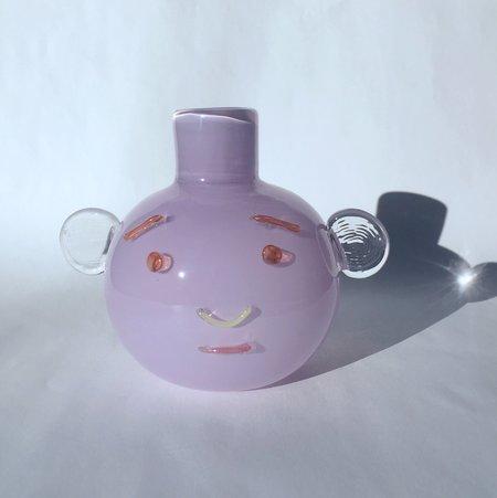 TAK TAK Chroma Bubble Face Vase - purple