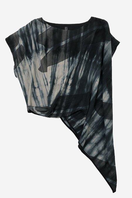 Uzi NYC A/Wave Tunic Top - Swipe/Tie Dye