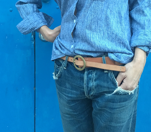 Kika NYC split belt