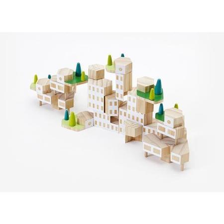 kids areaware blockitecture garden city mega set
