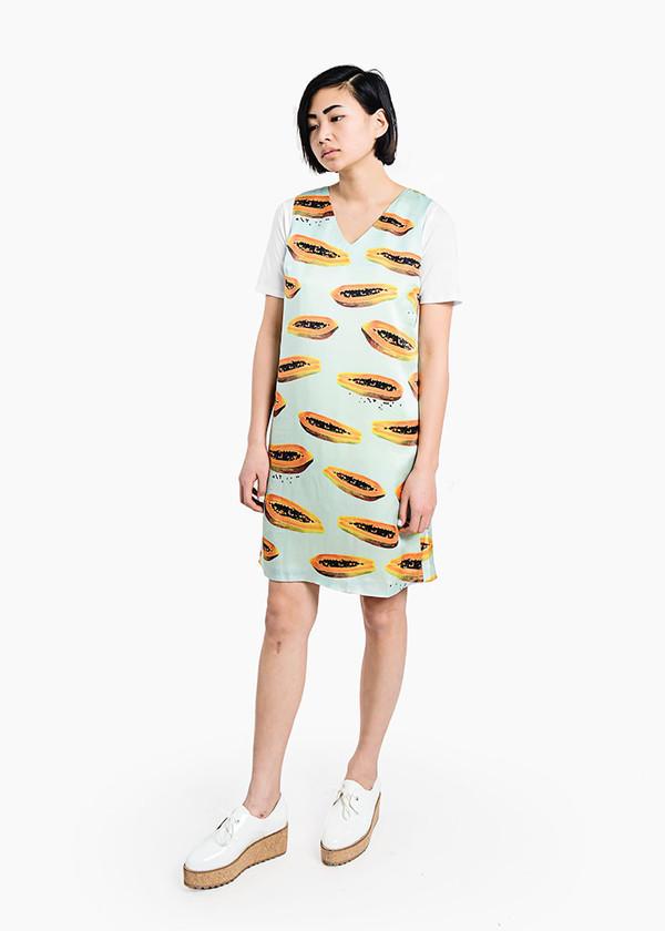 Thu Thu - Papaya Dress