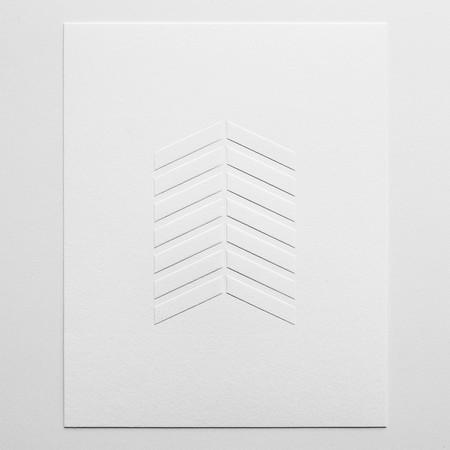 Barclay Haro Art Concepts Chevron Emboss