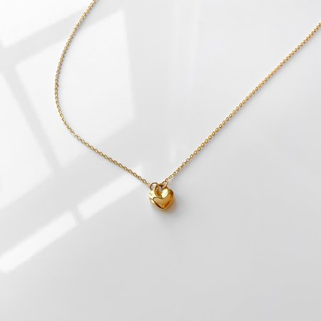 Thatch Adoring Heart Necklace - 14k gold plated