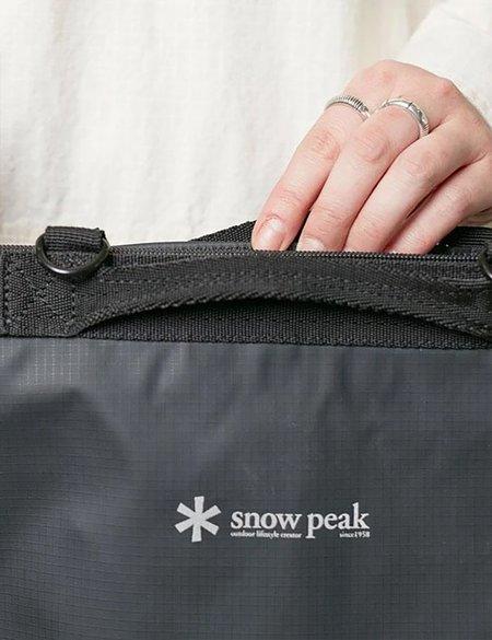 Snow Peak 2 Way Tote Bag - Black