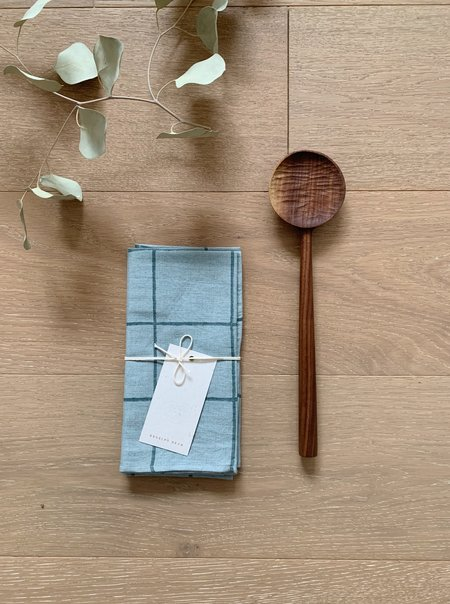 Four Leaf Wood Shop The Table for Two Bundle - Marfa Napkins
