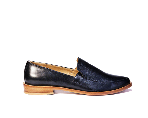 Zou Xou Loafer in Glazed Black