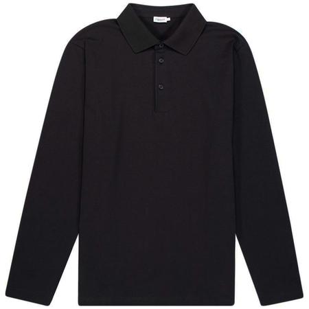 Filippa K luke lycra polo shirt - Black