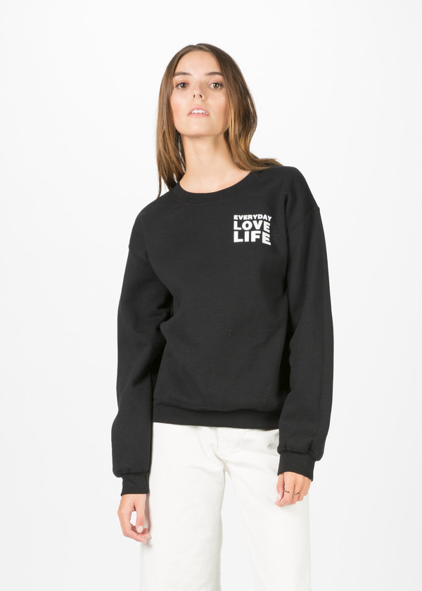 Harvey Faircloth Love Life Pullover