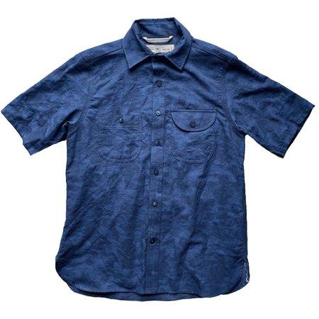 Rogue Territory Work Shirt Short Sleeve - Blue Camo