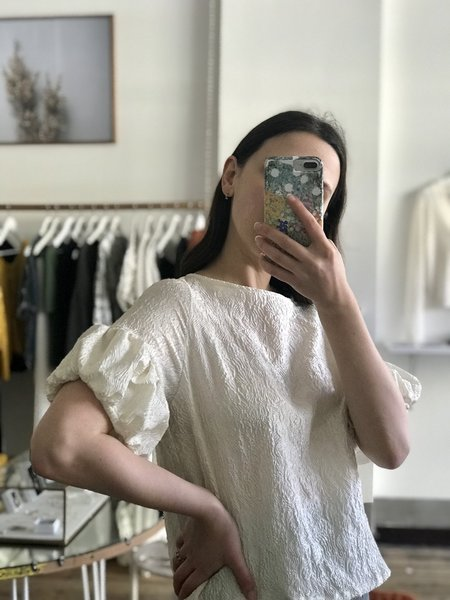 BEFORE MARCH Francis blouse