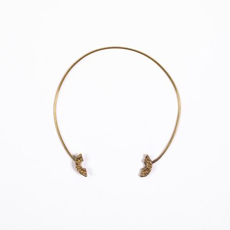 Saint Claude Demi Lune Open Collar Necklace