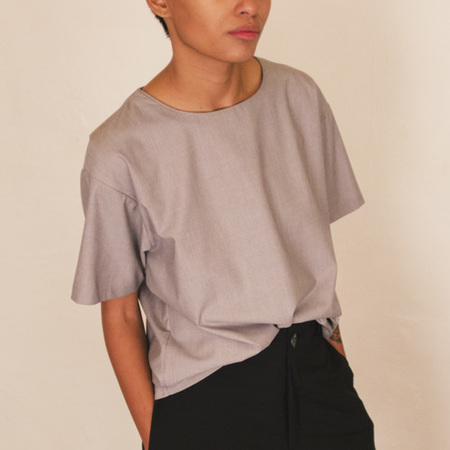 SECOND/LAYER Structured Shirt