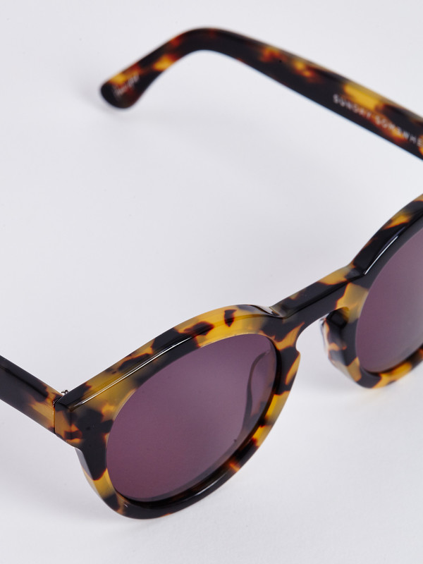 SUNDAY SOMEWHERE KITEY SUNGLASSES / MARBLE DEMI