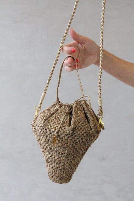 Samuray Martin natural fiber Projeto Akra Ruby Bag - Natural