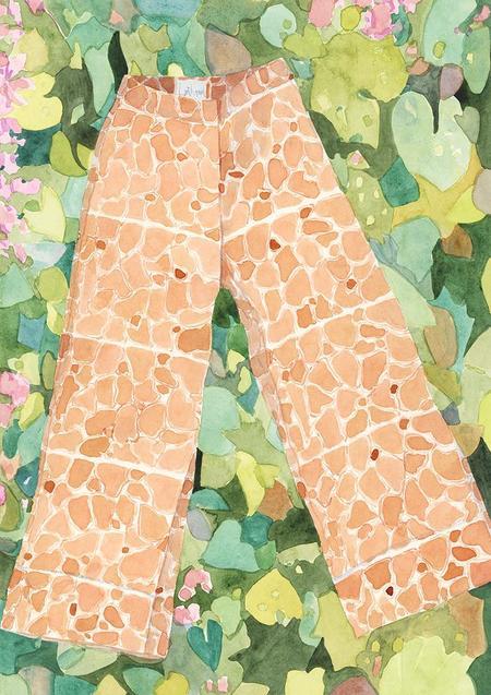 Lois Hazel x Louise Tate LW Straight Pant Print