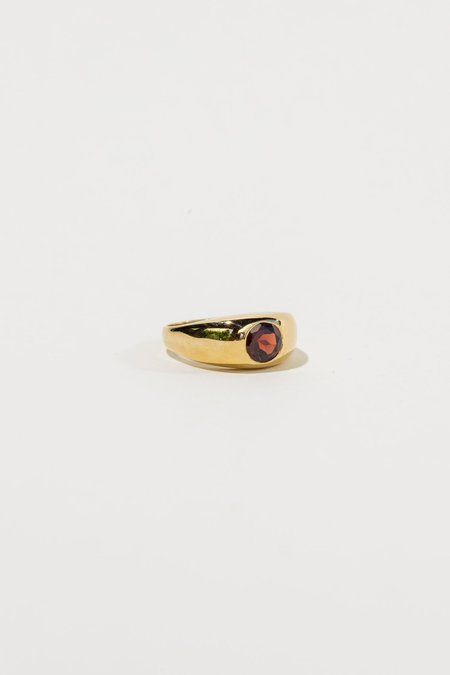 Luiny Gypsy Ring - Garnet