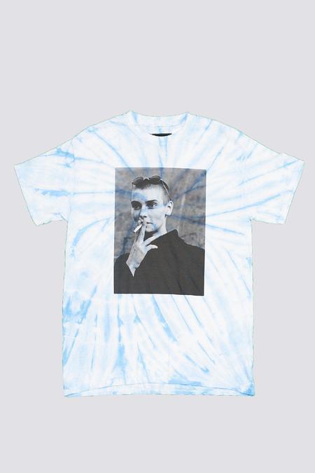 Unisex Assembly Tie Dye Sinead T-Shirt - Light Blue