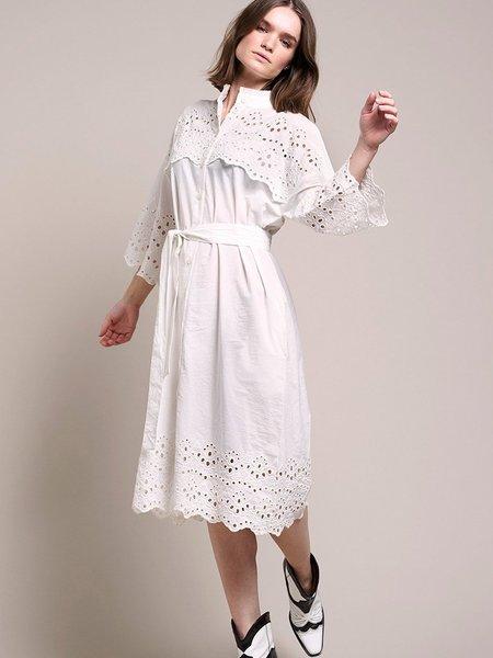 Lolly's Laundry Tumi Dress - White